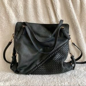 Moda Luxe • Vegan Leather Hobo Bag